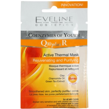 Eveline Cosmetics Q10 + R masque thermo-actif 10 ml