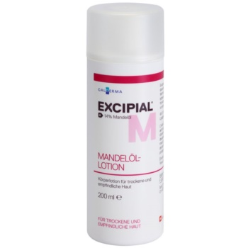 Excipial M Almond Oil lait corporel pour peaux sèches et sensibles (14% Almond Oil) 200 ml