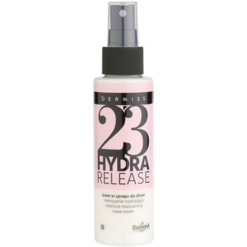 Farmona Dermiss Hydra Release crème hydratante mains en spray Step 23 (Hyaluronic Acid, Urea, Silk Protein) 110 ml
