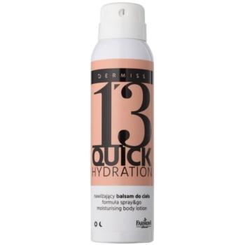 Farmona Dermiss Quick Hydration lait corporel hydratant en spray Step 13 (Hyaluronic Acid, Argan Oil, Smoothing Complex) 150 ml