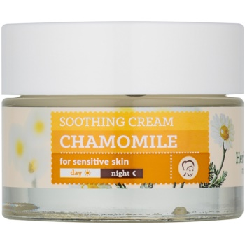 Farmona Herbal Care Chamomile crème apaisante effet hydratant (Evening Primrose Oil, Hyaluronic Acid, Soothing Biocomplex, Shea Butter, Inutec) 50 ml