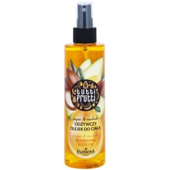 Farmona Tutti Frutti Argan & Avocado huile corporelle en spray effet nourrissant 200 ml