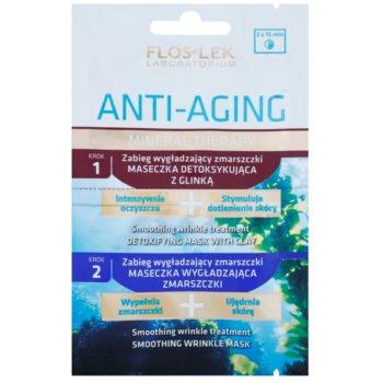 FlosLek Laboratorium Anti-Aging Mineral Therapy soin anti-rides aux minéraux 2 x 5 ml