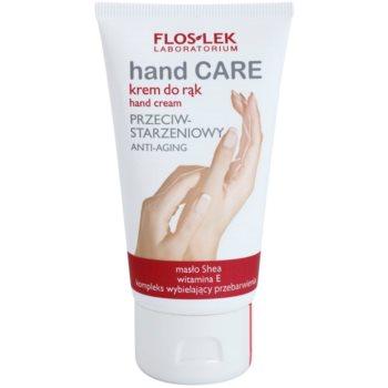 FlosLek Laboratorium Hand Care Anti-Aginig crème mains anti-signes de vieillissement (Shea Butter, Vitamin E, Whitening Complex) 75 ml