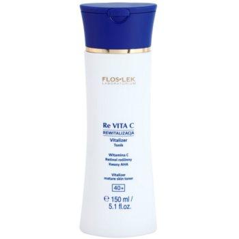 FlosLek Laboratorium Re Vita C 40+ lotion tonique revitalisante visage (Vitalizer Mature Skin Toner) 150 ml