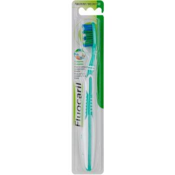 Fluocaril Complete brosse à dents medium Green