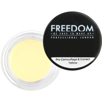 Freedom Pro Camouflage & Correct correcteur cernes sous les yeux teinte Yellow 2,5 g