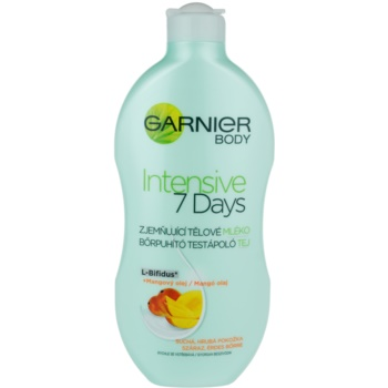 Garnier Intensive 7 Days lait corporel apaisant à l'huile de mangue (Ultra-Regenerating Balm With L-Bifidus+Mango Oil) 400 ml