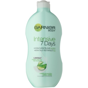Garnier Intensive 7 Days lait corporel hydratant à l'aloe vera (Ultra-Regenerating Balm With L-Bifidus+Aloe Vera)) 400 ml