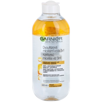 Garnier Skin Cleansing eau micellaire bi-phasée 3 en 1 (Micellar Water) 400 ml