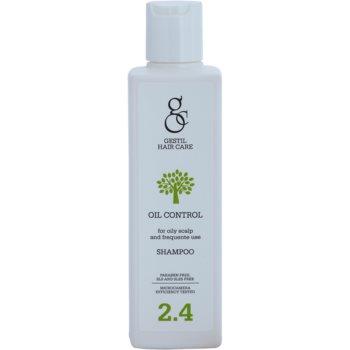 Gestil Oil Control shampoing pour cheveux gras (Paraben Free, SLS & SLES Free) 200 ml