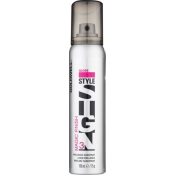 Goldwell StyleSign Gloss spray pour tous types de cheveux 3 (Finish Brilliance Hairspray) 100 ml