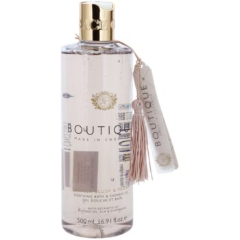 Grace Cole Boutique Vanilla Blush & Peony gel douche et bain apaisant (With Extracts of Almond Oil, Silk & Champagne) 500 ml