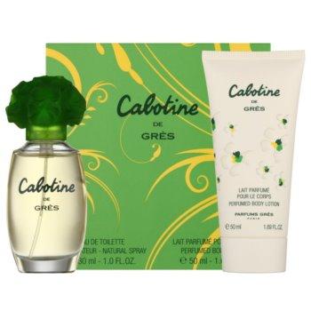 Gres Cabotine coffret cadeau IV. eau de toilette 30 ml + lait corporel 50 ml