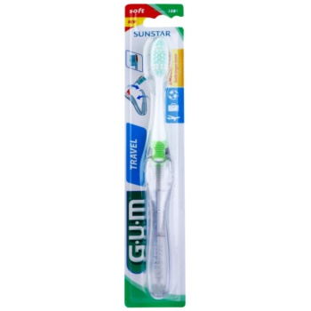 G.U.M Travel brosse à dents de voyage soft Green (Type 158)