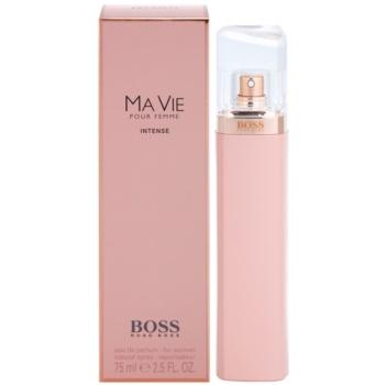 Hugo Boss Boss Ma Vie Intense eau de parfum pour femme 75 ml
