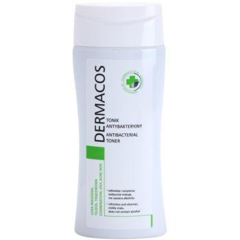 Ideepharm Dermacos Combination Oily Acne Skin lotion tonique antibactérienne pour peaux grasses et à problèmes 200 ml