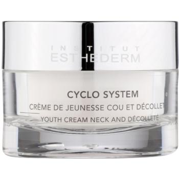 Institut Esthederm Cyclo System crème rajeunissante cou et décolleté (Time Cellular Care) 50 ml
