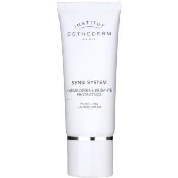Institut Esthederm Sensi System crème de jour pour augmenter la tolérance des peaux sensibles (Time Cellular System, UV in Cellium Technology) 50 ml