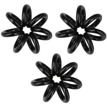 InvisiBobble Nano élastique à cheveux 3 pcs True Black (Styling Hair Rings)