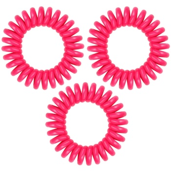 InvisiBobble Power élastique à cheveux 3 pcs Pinking of You (Extra Strong Hair Rings)