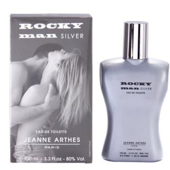 Jeanne Arthes Rocky Man Silver eau de toilette pour homme 100 ml