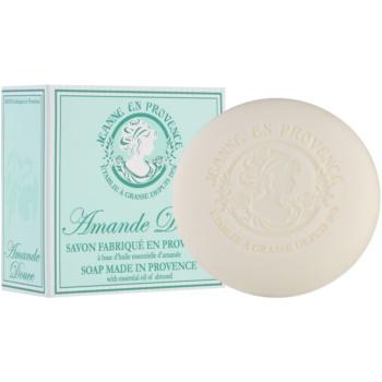 Jeanne en Provence Almond savon de luxe français 100 g