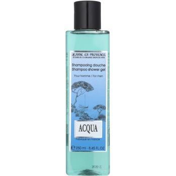 Jeanne en Provence Acqua gel douche pour homme 250 ml