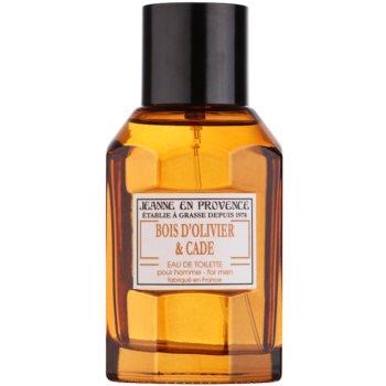 Jeanne en Provence Olive Wood & Juniper eau de toilette pour homme 100 ml