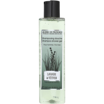 Jeanne en Provence Lavander & Vétiver gel douche pour homme 250 ml