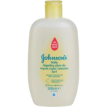 Johnson's Baby Wash and Bath gel douche doux pour bébé 3 en 1 (No More Tears) 300 ml