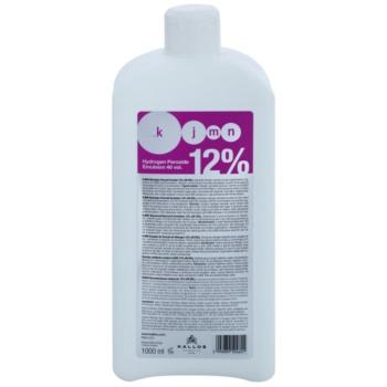 Kallos KJMN révélateur 12% 40 Vol. à usage professionnel (Hydrogen Peroxide Emulsion 12% 40 vol.) 1000 ml