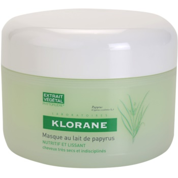 Klorane Papyrus Milk masque nourrissant pour cheveux secs et indisciplinés (Mask with Papyrus Milk) 150 ml