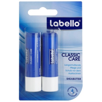 Labello Classic Care baume à lèvres 2 pcs