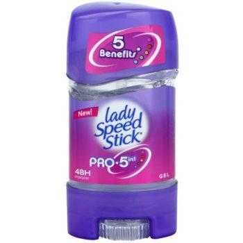 Lady Speed Stick Pro 5 in1 anti-transpirant gel (48h) 65 g