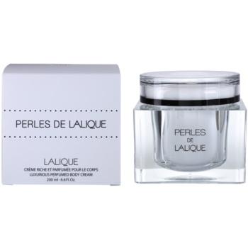 Lalique Perles de Lalique crème corps pour femme 200 ml
