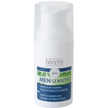 Lavera Men Sensitiv crème de jour hydratante nourrissante (Moisturizing Nourishing Cream) 30 ml