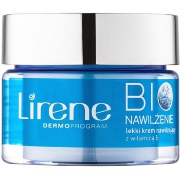 Lirene Bio Hydration crème légère hydratante pour peaux normales à mixtes (With Vitamin E, Mango Extract and Flower Water) 50 ml