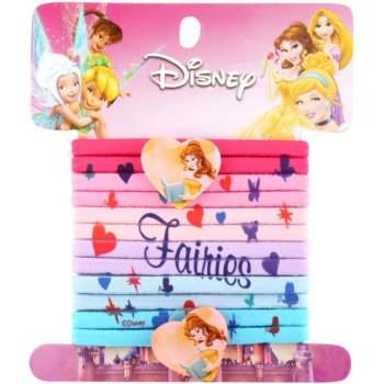 Lora Beauty Disney Princess élastiques à cheveux (Bella) 12 pcs