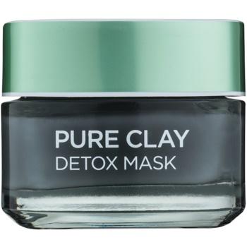 L'Oréal Paris Pure Clay masque détoxifiant (Detox Mask 3 Pure Clays + Charcoal) 50 ml