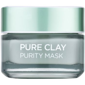 L'Oréal Paris Pure Clay masque purifiant et matifiant (Purity Mask 3 Pure Clays + Eucalyptus) 50 ml