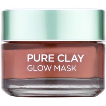 L'Oréal Paris Pure Clay masque exfoliant (Glow Mask 3 Pure Clays + Red Algae) 50 ml