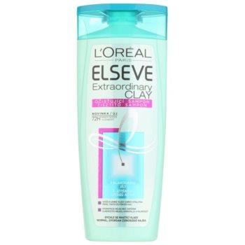 L'Oréal Paris Elseve Extraordinary Clay shampoing purifiant pour cheveux qui deviennent gras très vite 250 ml