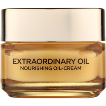 L'Oréal Paris Extraordinary Oil huile-crème nourrissante anti-signes de fatigue (Nourishnig Oil-Cream, Anti-Fatigue) 50 ml