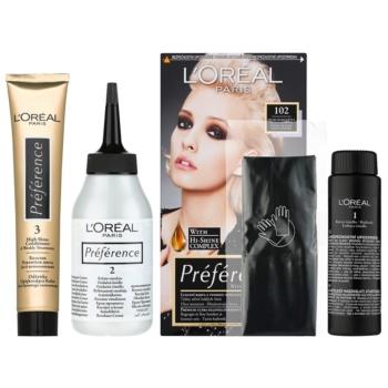 L'Oréal Paris Préférence coloration cheveux teinte 102