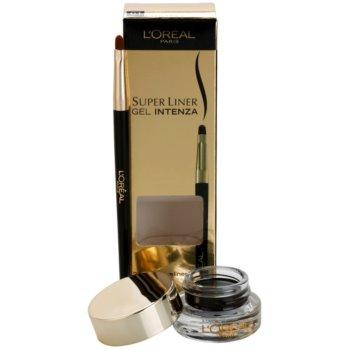 L'Oréal Paris Super Liner eyeliner gel teinte 01 Pure Black (24h Gel Eyeliner) 2,8 g