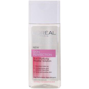 L'Oréal Paris Skin Perfection eau micellaire nettoyante 3 en 1 200 ml