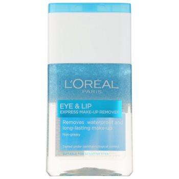 L'Oréal Paris Skin Perfection démaquillant bi-phasé contour des yeux et lèvres (Express Make-up Remover) 125 ml
