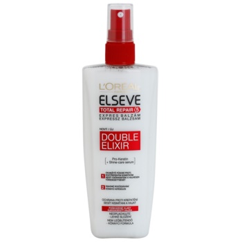 L'Oréal Paris Elseve Total Repair 5 baume régénérant anti-pointes fourchues (Double Elixir) 200 ml