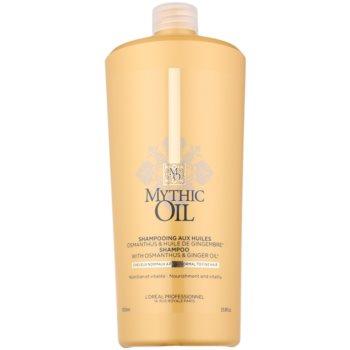 L'Oréal Professionnel Mythic Oil shampoing pour cheveux normaux à fins (Shampoo with Osmanthus & Ginger Oil) 1000 ml